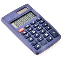 Dual Power Mini Pocket Calculator