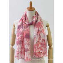 newest colorful long classic printing fashion ladies shawl