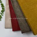 Upholstery Polyester Textile Linen Woven Decorative Sofa Fabric