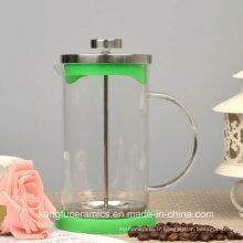 Presse française promotionnelle de 600 ml, machine à thé