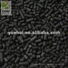Carvão ativado extrudido de 3mm para dessulfuração