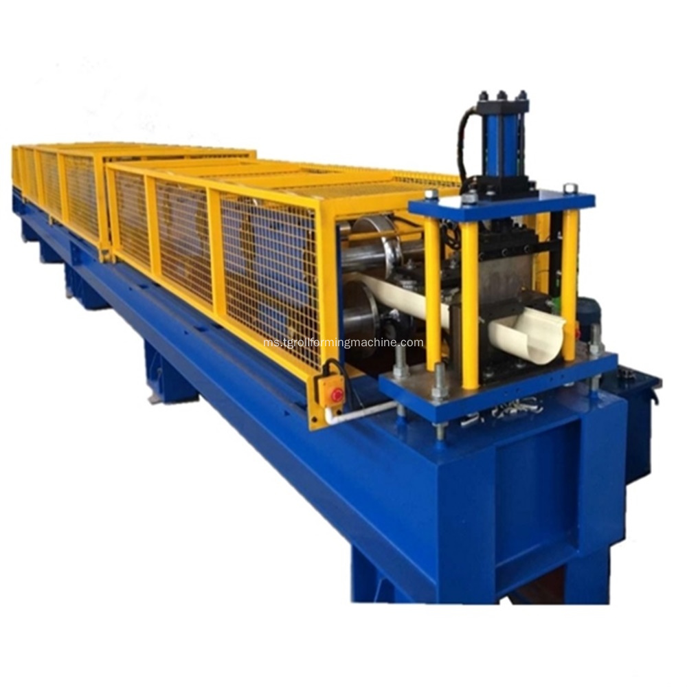 Rolling Metal Half Round Rolling Forming Machine