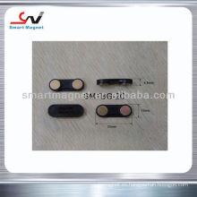 Venta caliente personalizadas NdFeB bloque / disco magnético titular del nombre