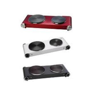 Fabriqué en Chine de haute qualité Portable double plaque chauffante solide