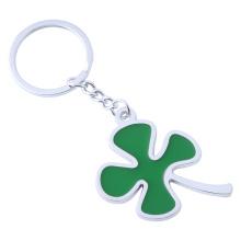 Dernière conception à quatre feuilles pendentif en forme de porte-clés en métal