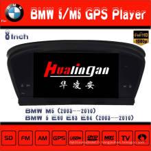 Lecteur DVD de voiture / Navigation GPS pour BMW M5 / E60 / E61 / E63 / E64