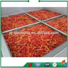 Secador de ar quente de aço inoxidável para legumes e frutas