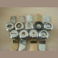 Zink-Legierung Bright Chrome Industrial Cabinet Cam Locks