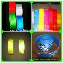 Cinta adhesiva reflectante transparente reflectante de 3M