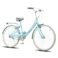 Steel Frame Lady Bicycle dengan Carrier