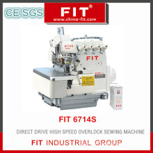 Direct Drive High Speed Overlock Sewing Machine (6714S)