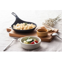 Tigela de melamina com alça / melamina buffet bowl (qq1622)