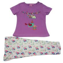 El traje de los niños de la niña del verano para la ropa de los niños