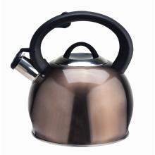 Chaleira de café chá com fundo de fogão de indução em aço inoxidável