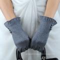 Conception de boutons dames, téléphone intelligent, écran tactile, laine, gants, bon marché