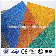 polycarbonate small embossed sheet/pc diamond embossed panel
