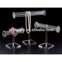 Clear Tube Acrylic Bracelet Display Holder