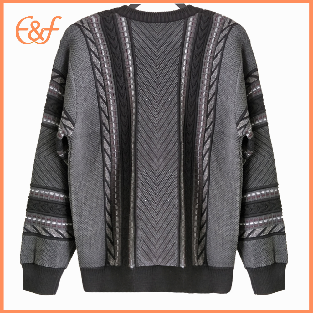 Fashion Cable Knit Pullover Sweater Jumper