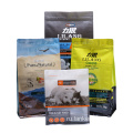 Food Pouches Custom Printed Packaging Pet Bottom Bag