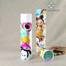 Fashion baby custom 3d cartoon girl tube socks