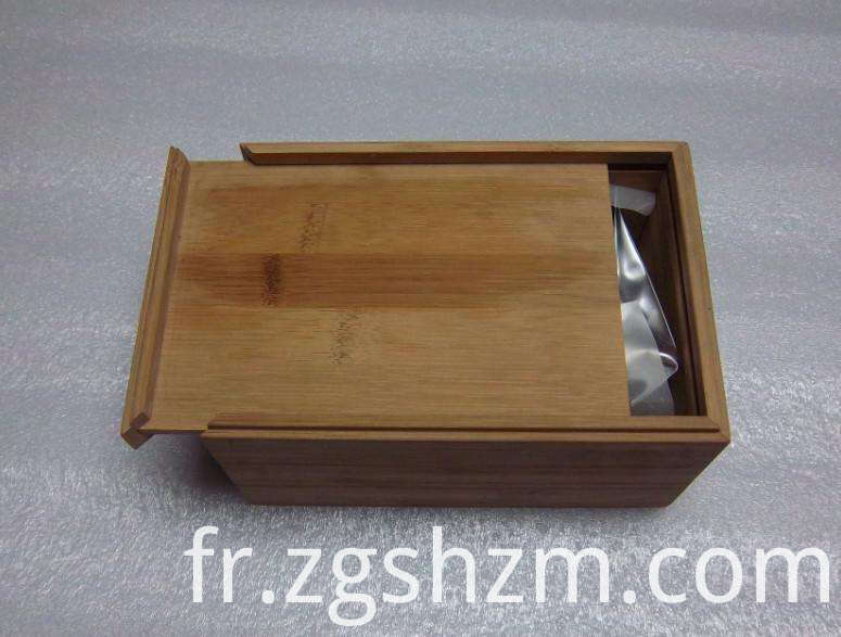 Rectangle Bamboo Box with Slid