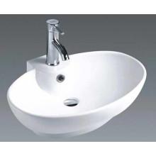 Lavatório de cerâmica elegante lavatório (7099)