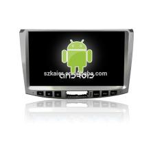¡reproductor de DVD del coche, fábrica directamente! Android de cuatro núcleos para el coche, GPS / GLONASS, OBD, SWC, wifi / 3g / 4g, BT, vínculo del espejo para Volkswagen-Magotan