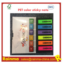Pet Color Sticky Note for Office Stationery Supply