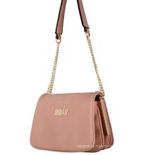 Lady Chain PU Fashion Cross Bag (N-1057)