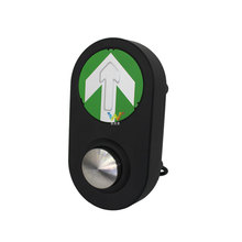 mini cruzamento guia de estrada pedestre semáforo botão