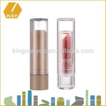 Recipiente de cosméticos vazio, injeção barata, molde de batom plástico