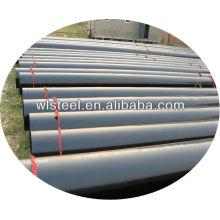 astm a53 / a106 / gr.b sch 80 tubería de acero con poco carbono