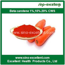 Alta calidad Beta caroteno 1% 10% 20%