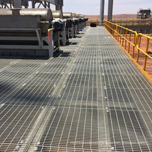 Hot Dipped Galvanized Platform Serrated Steel Grating for US