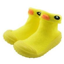 Bébé personnalisé 3d animal cartoon chaussettes avec semelle en caoutchouc bébé chaussettes chaussures