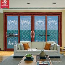 Factoy Custom 4-Panel Sliding Aluminium Door Window                                                                         Quality Choice
