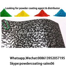 Elektrostatik Semprot Thermosetting Ral Color Powder Coating Paint