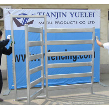 Heavy Duty Portable Hot Dipped Galvanized Sheep Goat Cattle Panel Fence/Hot Dipped Galvanized Cattle Yard Panel Fence (China Real Factory)