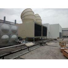 Jn-400d Cross Flow Square Wasserkühlturm mit Lüfterhaube