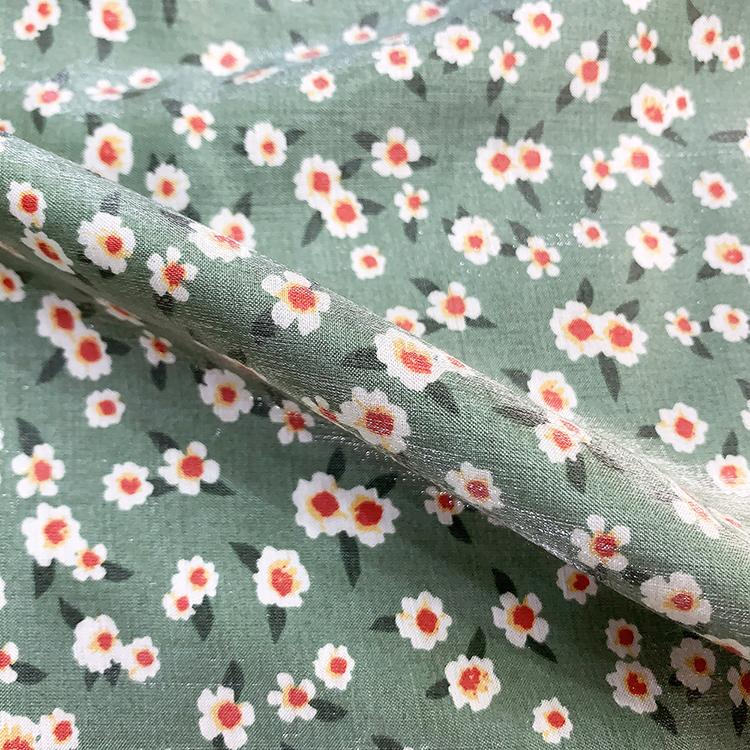Silver Cotton Fabric