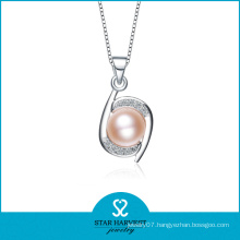 2015 China Wholesale Pearl Jewelry 925 Sterling Silver Pendant (N-0099)