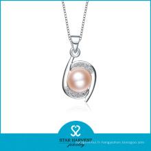 2015 Chine gros perle bijoux 925 pendentif en argent sterling (N-0099)
