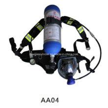 Cilindros Scba para aparelhos respiratórios de suporte de vida