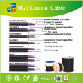 Pacote profissional do cabo 100m do Ethernet do cabo coaxial RG6