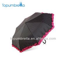 parapluie promotionnel filles beauté violet pliant blanc mini dentelle parapluie