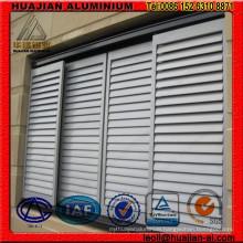 Fixed Aluminum Shutter Windows