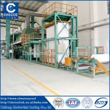 Capacidade Anual 3 milhões de metros cúbicos \ Betume automático membrana impermeável máquina China fábrica de vendas e instalação