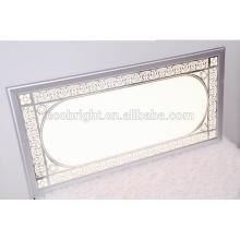 Panel de luz de techo decorativo, dimmable led moderna luz led para montaje en superficie