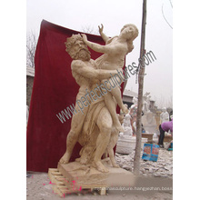 Marble Carving Statue Antique Sculpture Carved Stone for Garden Decoration (SY-X1191)