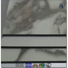 Revestimento PVDF de 4mm China Material composto em alumínio